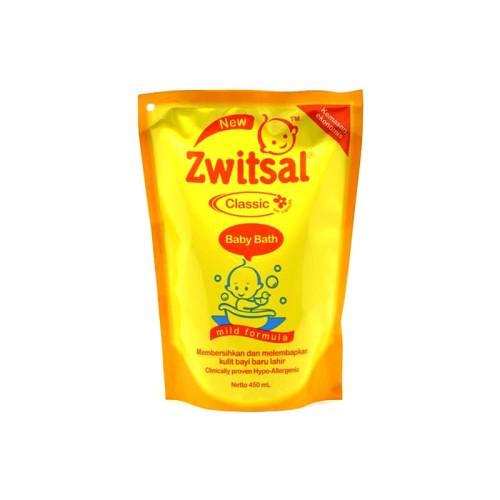 Foto Produk Zwitsal Baby Bath Shp Classic Pouch 450Ml dari LotteMart Indonesia