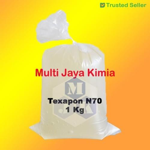 Foto Produk Texapon / N70 / SLES 1Kg Ex BASF dari Multi Jaya Kimia