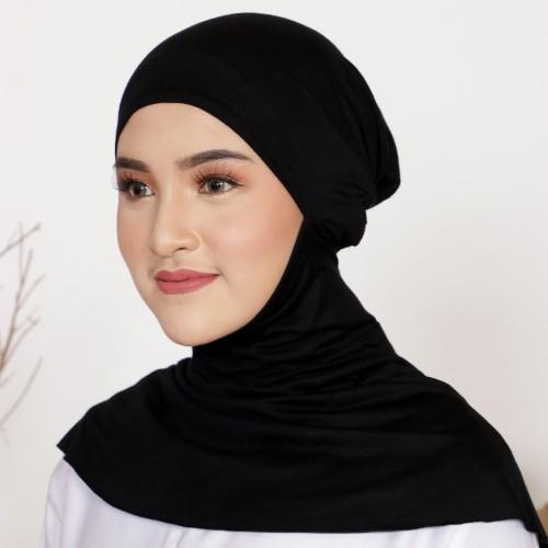 Foto Produk Mybamus Fateen Inner Hijab (Ciput Ninja) Black M15557 dari Mybamus Official