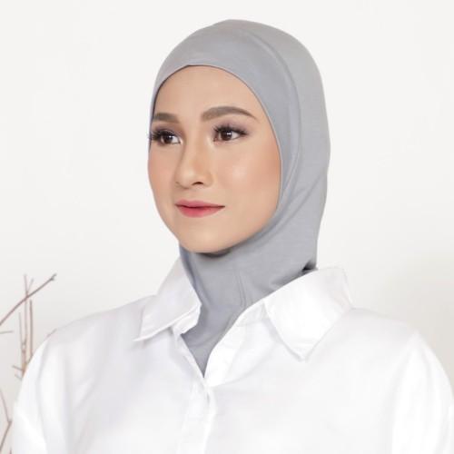 Foto Produk Mybamus Kieran Inner Hijab (Ciput Antem) Light Gray M15566 dari Mybamus Official