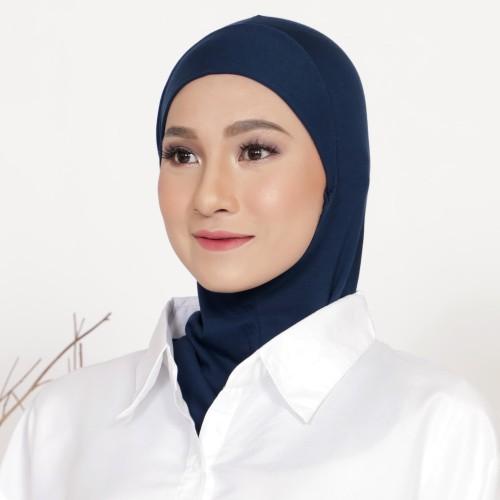 Foto Produk Mybamus Kieran Inner Hijab (Ciput Antem) Navy M15563 dari Mybamus Official