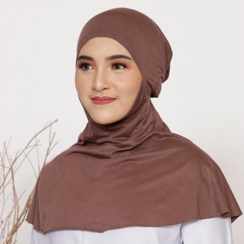 Foto Produk Mybamus Fateen Inner Hijab (Ciput Ninja) Mocca M15560 dari Mybamus Official
