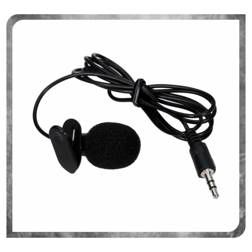 Foto Produk 3.5mm MIC YOUTUBER Microphone with clip - Clip Mic - Clip on Mic dari K2 Official Store