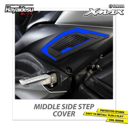 Foto Produk Hayaidesu XMAX Middle Side Step Body Protector Cover - Biru dari Hayaidesu Indonesia