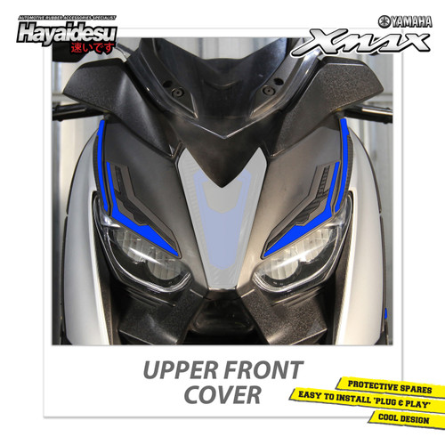 Foto Produk Hayaidesu XMAX Upper Front Body Protector Cover - Biru dari Hayaidesu Indonesia