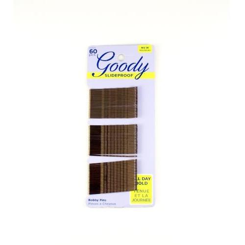 """Foto Produk Goody 1520X6A/ 1942223/ 01520 2"""" bobby pins brown 60ct dari Goody Hair USA"""