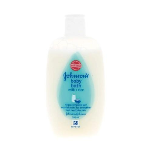Foto Produk Johnson Baby Milk Bath 200Ml dari LotteMart Indonesia