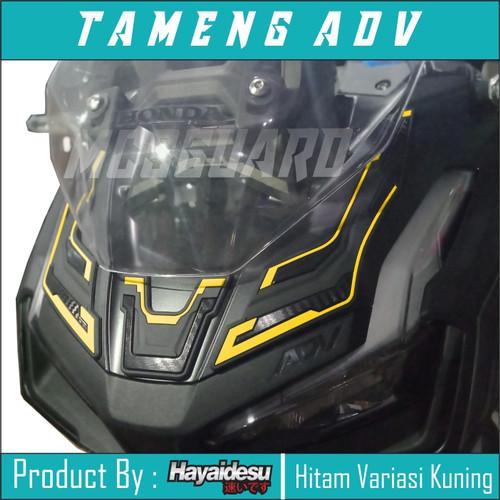 Foto Produk Jual Tameng ADV 150/Aksesoris Honda ADV/Sticker 3D/Rubber karet - Kuning dari MCSGUARD