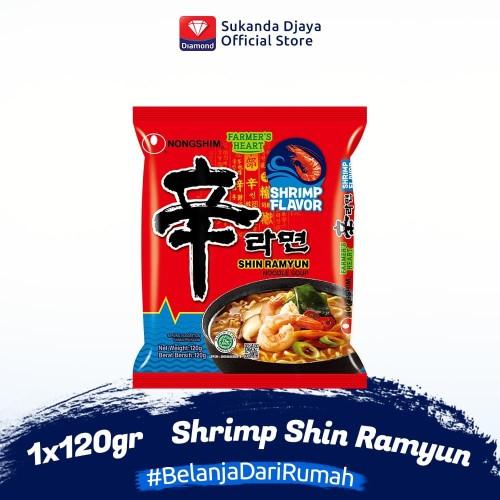 Foto Produk Nong Shim Shrimp Shin Ramyun 120 gr dari Sukanda Djaya Home