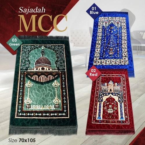 Foto Produk [Carpet Shop ID] Sajadah Prayer 70X110 (Halus, Anti Slip) - 02 HIJAU dari Carpet Shop Indonesia