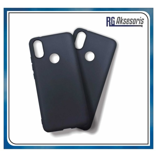 Foto Produk SLIM BLACK MATTE SOFTCASE FOR SAMSUNG/OPPO/XIAOMI/VIVO/IPHONE dari RG AKSESORIS HP