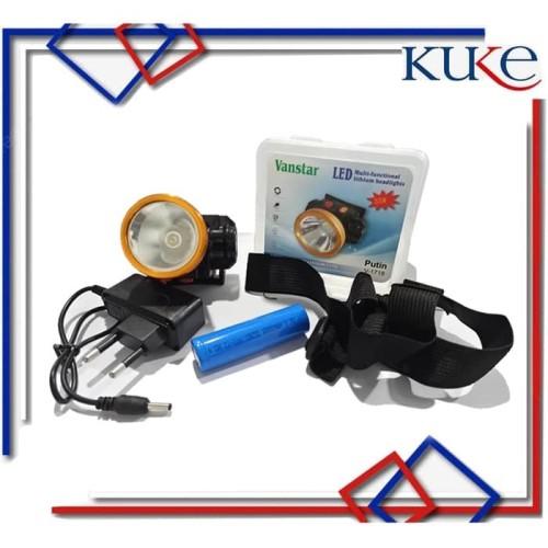 Foto Produk G40 Senter Kepala 10watt / Headlamp 10watt / Senter Camping dari KUKE