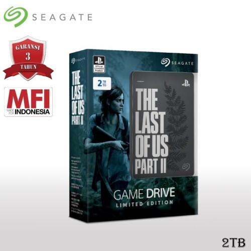 Foto Produk Seagate Game Drive Hardisk Eksternal 2TB The Last of Us 2 Edition dari Seagate Official Store