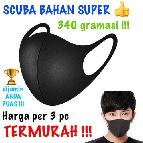 Foto Produk Masker Kesehatan Masker Scuba mdl korea Anti Virus bisa di Cuci Ulang dari juragan kado