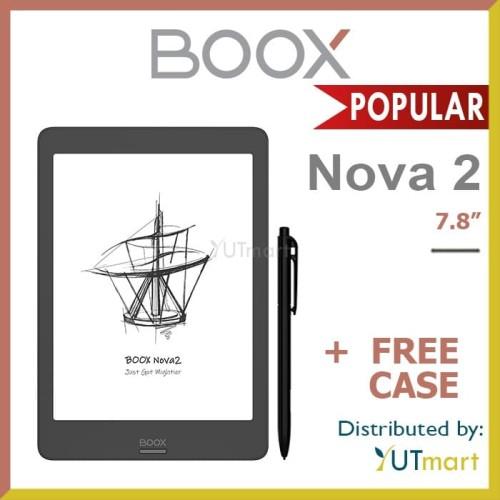 Foto Produk ONYX BOOX Nova 2 7.8 inch Android 9.0 E-ink Reader dengan Wacom Stylus dari YUTmart