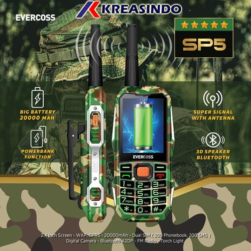 Foto Produk Evercoss SP5 Handy talky advanture Garansi Resmi - Kuning dari Kreasindo Online