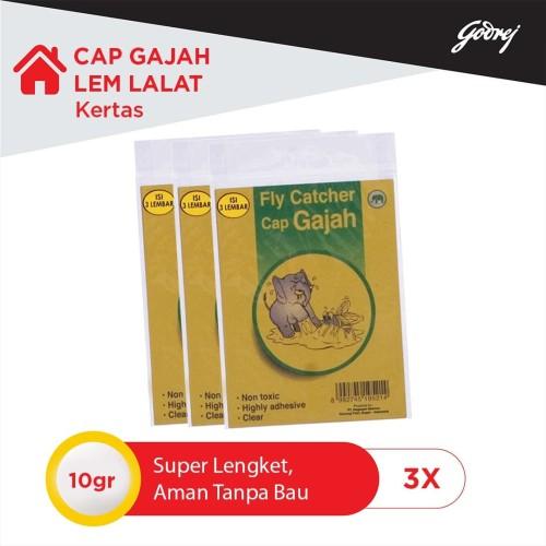 Foto Produk Cap Gajah Lem Lalat Kertas 3s- 3pcs dari Godrej Indonesia Store