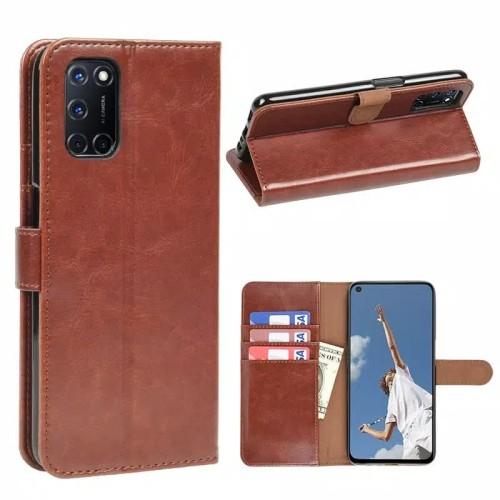 Foto Produk Standing Case OPPO A92 Sarung magnetic Dompet lipat leather dari FerraruACC
