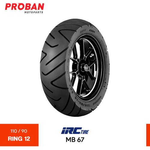 Foto Produk Ban Motor IRC TL MB 67 110/90 Ring 12 Tubeless dari Proban Motoparts