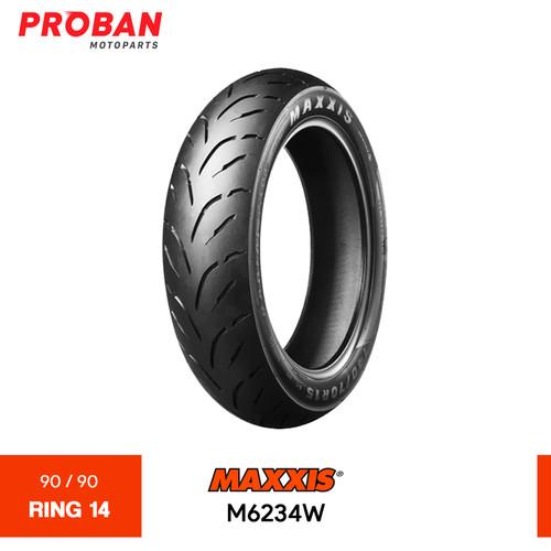 Foto Produk Ban Motor MAXXIS TL M6234W 90/90 Ring 14 Tubeless dari Proban Motoparts
