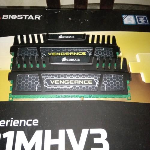 Foto Produk DDR3 4GB Corsair Vengeance (1x4GB) CMZ16GX3M4A1600C9 dari Stufi Media