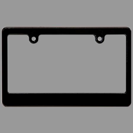 Foto Produk License Plate Frame MOON EYES Black Original Import dari Webike Indonesia