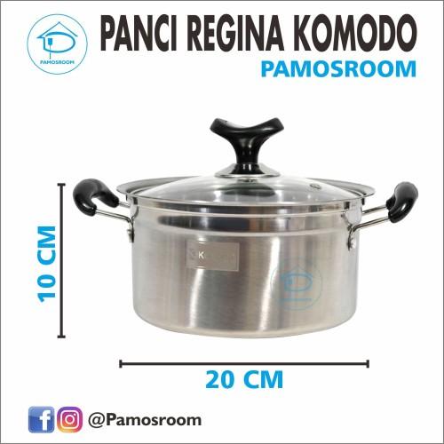 Foto Produk Panci Regina 20cm Merek Komodo Murah dan Multifungsi dari Pamosroom Living
