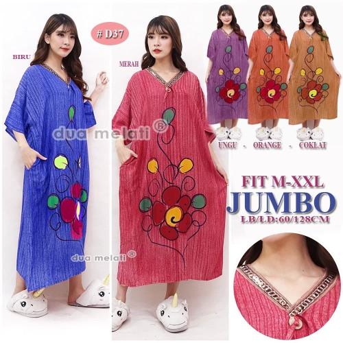 Foto Produk Baju Tidur Daster Batik Jumbo Big Size Rayon XXXL D33D34D35D36D37 dari dua melati