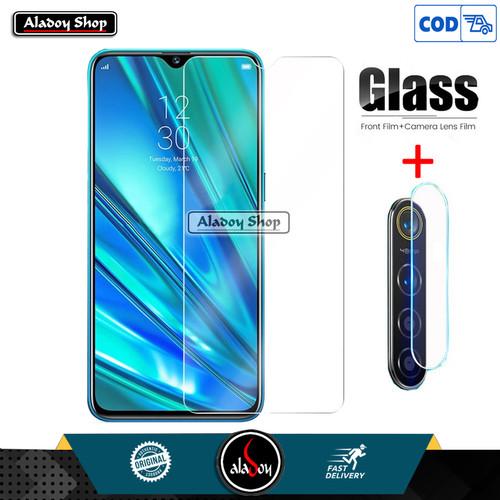 Foto Produk Aladoy Tempered Glass Layar Clear dan Lens Camera Realme 5 Pro dari Aladoy Shop Acc