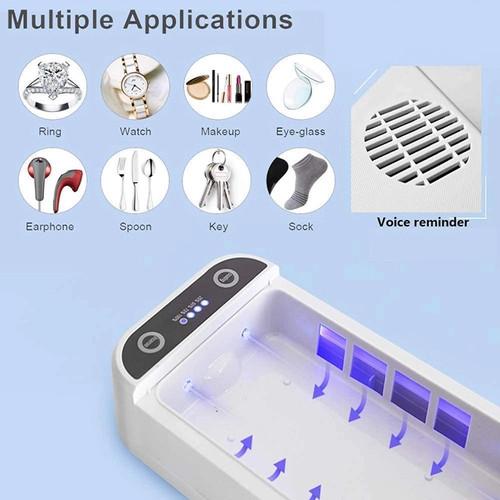 Foto Produk KOLMI K1 UV Sterilizer Disinfection Box With Wireless Charger dari SEKOM ONLINE STORE