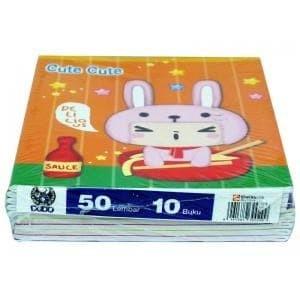 Foto Produk Buku Tulis Dodo isi 50 Lembar / Dodo 50 dari BENUA Makmur STATIONERY