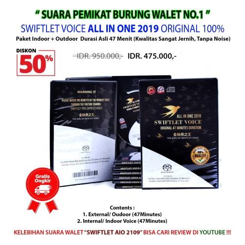 Foto Produk SUARA PANGGIL + INAP BURUNG WALET | RAJANYA SUARA WALET ORIGINAL 100% dari SWIFTLET OFFICIAL