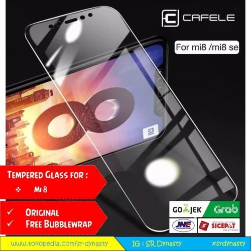 Foto Produk Tempered Glass CAFELE Xiaomi Mi8 Mi 8 dari SR Dynasty