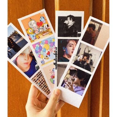 Jual Cetak Foto Polaroid Strip Photostrip Photobooth Photocard Instax Glossy Jakarta Barat Aesthetic Vibez Co Tokopedia