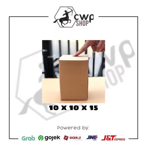 Foto Produk Kardus Box Karton Polos Uk 10x10x15 dari Cwpshop
