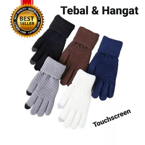 Foto Produk sarung tangan musim dingin atau naik gunung camping dll - Putih dari Gudang Stok