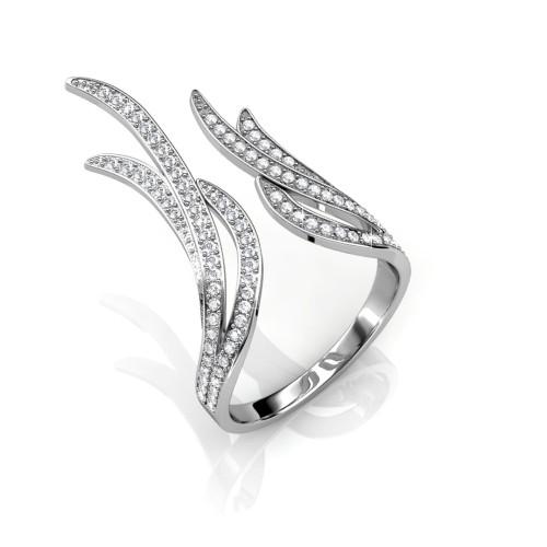Foto Produk Frayel Ring - Cincin Crystal Swarovski by Her Jewellery dari Her Jewellery