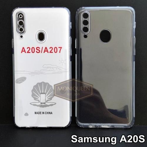Foto Produk Case Samsung A20S PREMIUM CLEAR SOFT CASE Bening Transparan Casing dari MoniQueenShop