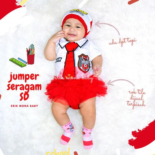 Foto Produk baju bayi jumper bayi karakter SD lucu - S dari ermon baby and kids