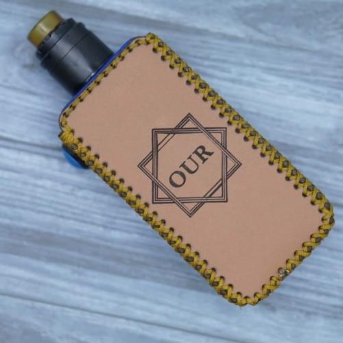 Foto Produk case kulit hexom custom - casing vave - hexom - Hitam dari Ziwolf