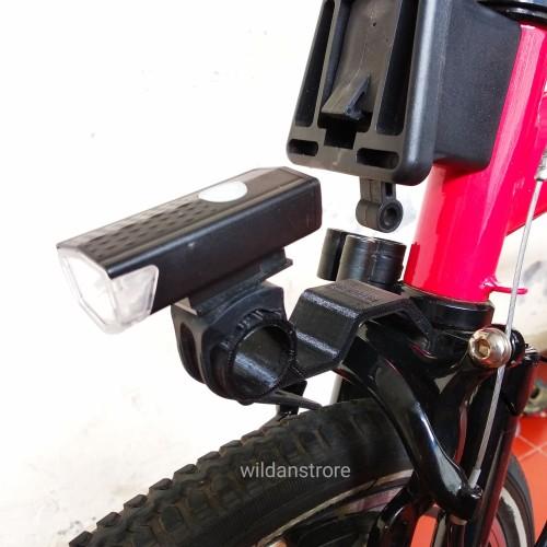 Foto Produk Bracket / Dudukan Lampu Depan Brompton, Pikes, Trifold, 360 dari WildanStrore