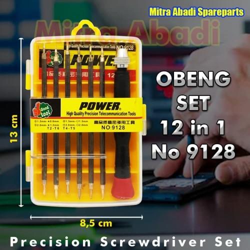 Foto Produk 12 in 1 Multi-Screwdrivers set toolkit Impacter SETT TOOLKIT NO:9128 dari Mitra Abadi Spareparts