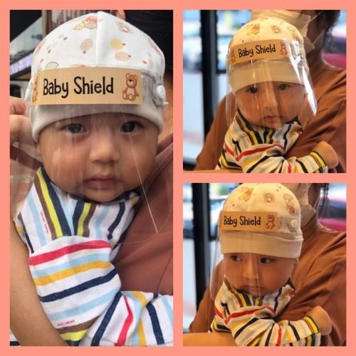 Foto Produk face shield bayi / baby faceshield dari moss indonesia