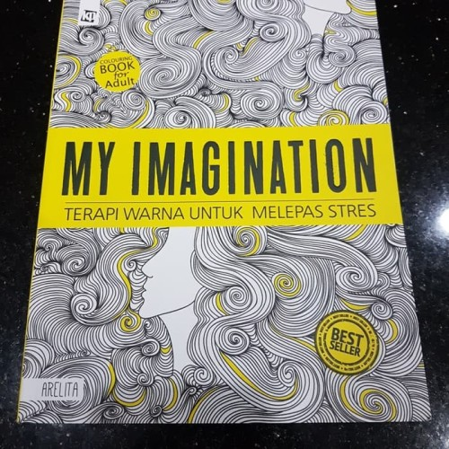 Foto Produk Adult Coloring Book MY IMAGINATION dari Just_Store