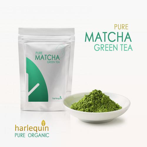Foto Produk Pure Matcha Powder High Grade 100 gram Bubuk Matcha Murni Japan dari Harlequin Herb