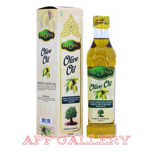 Foto Produk Minyak Zaitun Medina 325 ML Extra Virgin Olive Oil BPOM Asli Original dari AFF GALLERY
