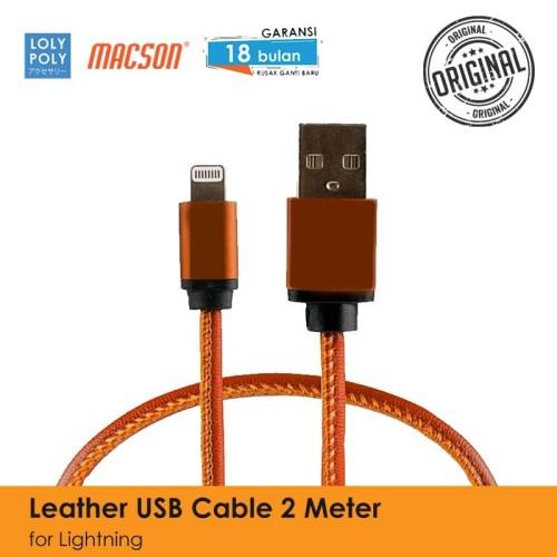 Foto Produk Lolypoly Kabel USB 84 2M Iphone - Merah Muda dari lolypoly
