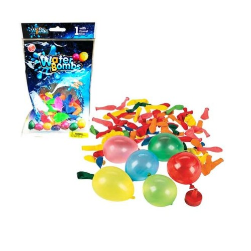 Foto Produk WATER BALLOON 608-100 MAINAN BATTLE PERANG BALON AIR dari D'Best Toys