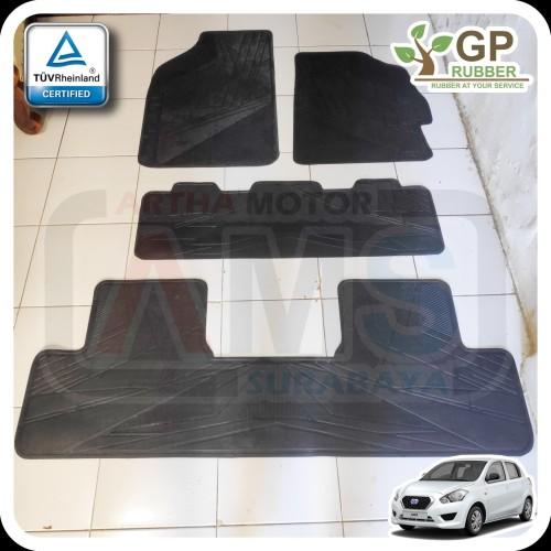 Foto Produk Karpet Karet Lantai Mobil Datsun Go+ plus 1 Set By GP Rubber dari ARTHA MOTOR SURABAYA