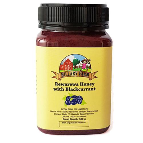 Foto Produk Manuka Honey - Hillary Farm Rewarewa with Blackcurrant 500g dari Tunas Organic